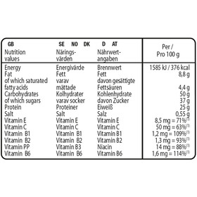 Isostar High Protein 25 Bar Caja 30x35g, Strawberry